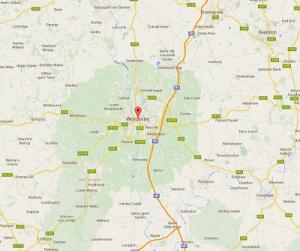 Wrexham Clwyd Location